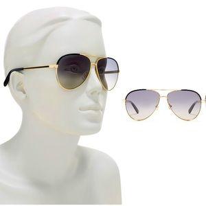 Kate Spade ♠️ gradient lens aviator sunglasses NWC